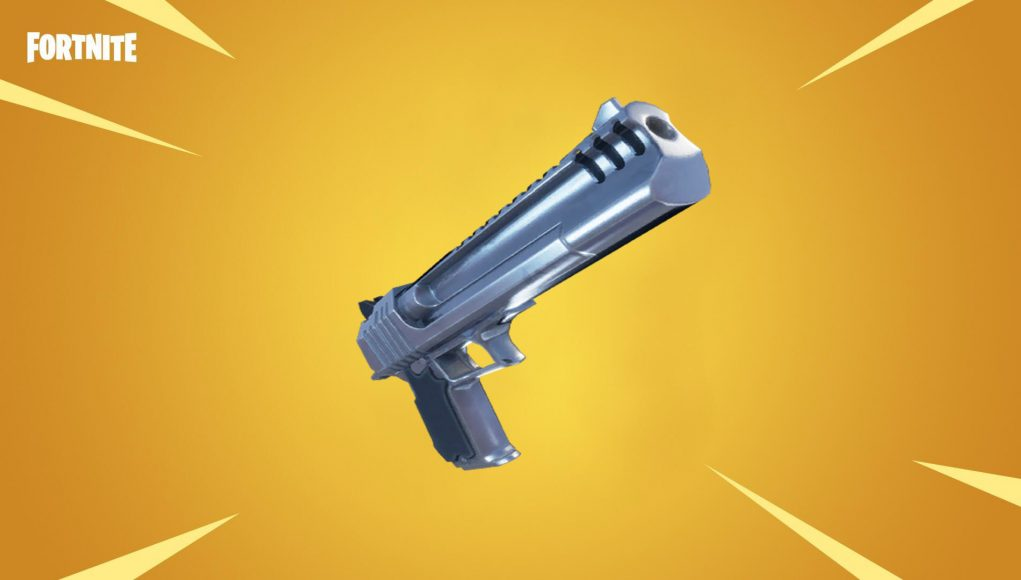 Legendary Hand Cannon