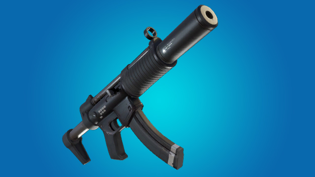 Uncommon Silenced SMG Fortnite Weapon Stats