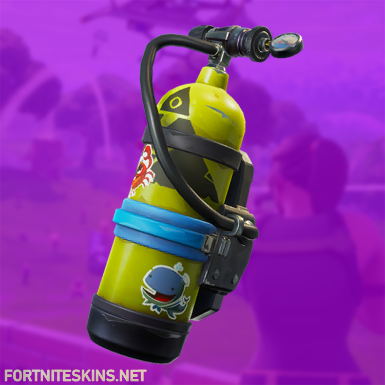 Epic Air Tank Back Bling