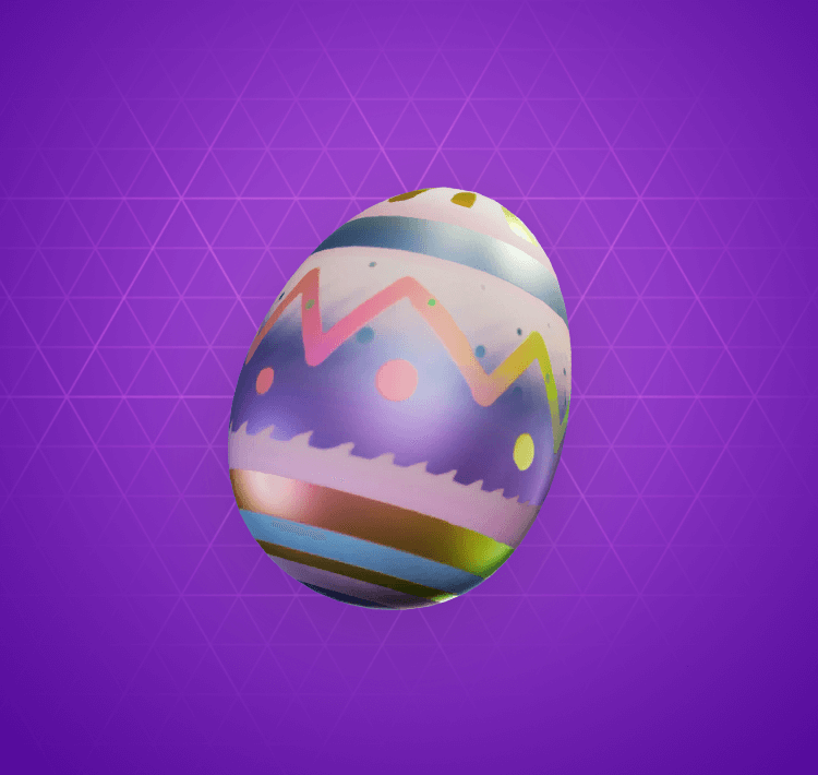 Epic Eggshell Back Bling