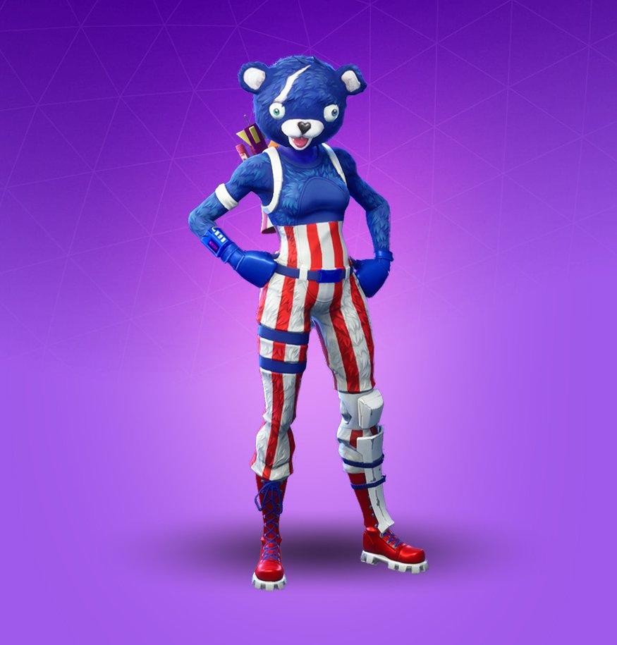 Legendary omen outfit fortnite cosmetic - Panda team leader costume ...