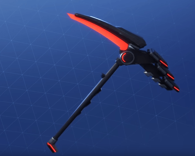 onslaught pickaxe - fortnite rarest pickaxe in the game