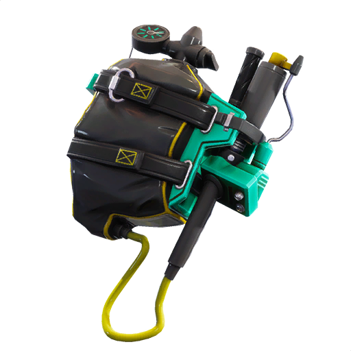 Epic Pathogen Back Bling