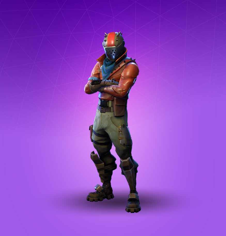 Epic Rust Lord Outfit