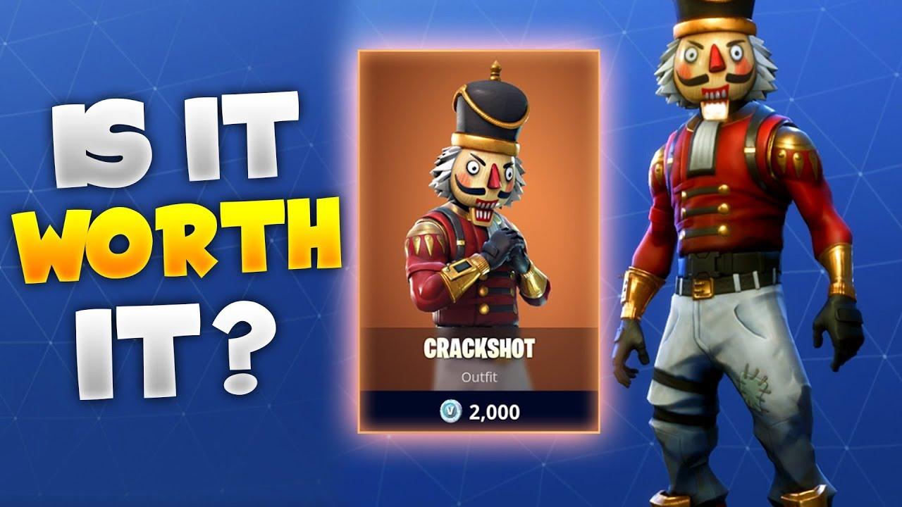 free crackshot skin