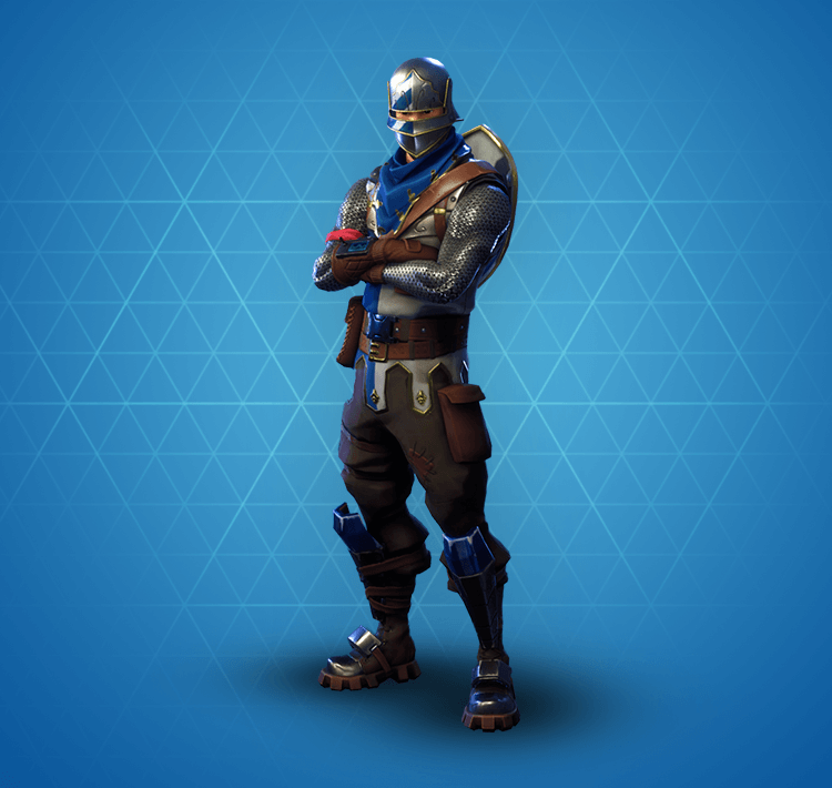 Rare Blue Squire Outfit