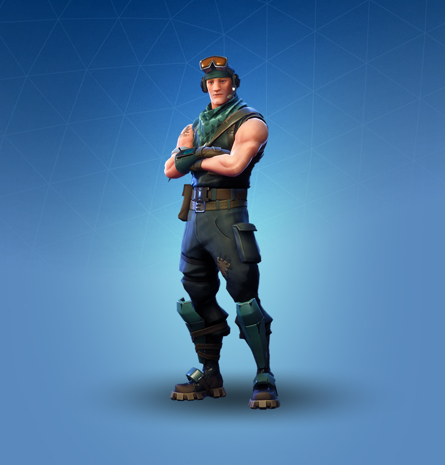 Rare Recon Scout Outfit
