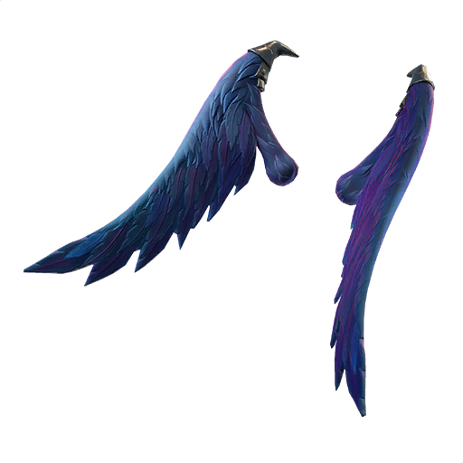 Legendary Dark Wings Back Bling