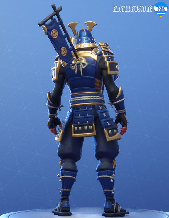 Legendary Sashimono Back Bling