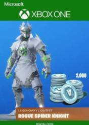 Legendary Spider Knight Outfit Fortnite Cosmetic Cost 2 000 V Bucks