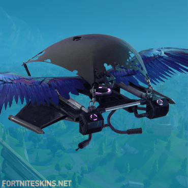Rare Feathered Flyer Glider