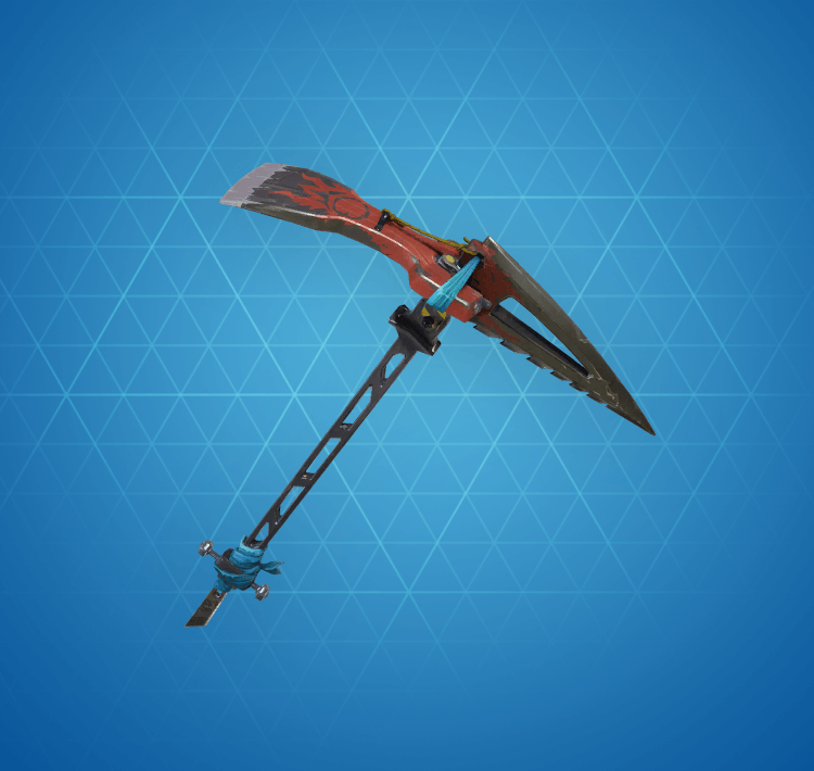 Rare Sawtooth Pickaxe