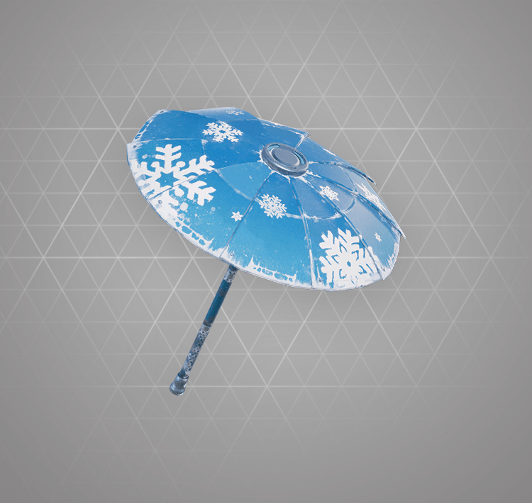 Common Snowflake Umbrella