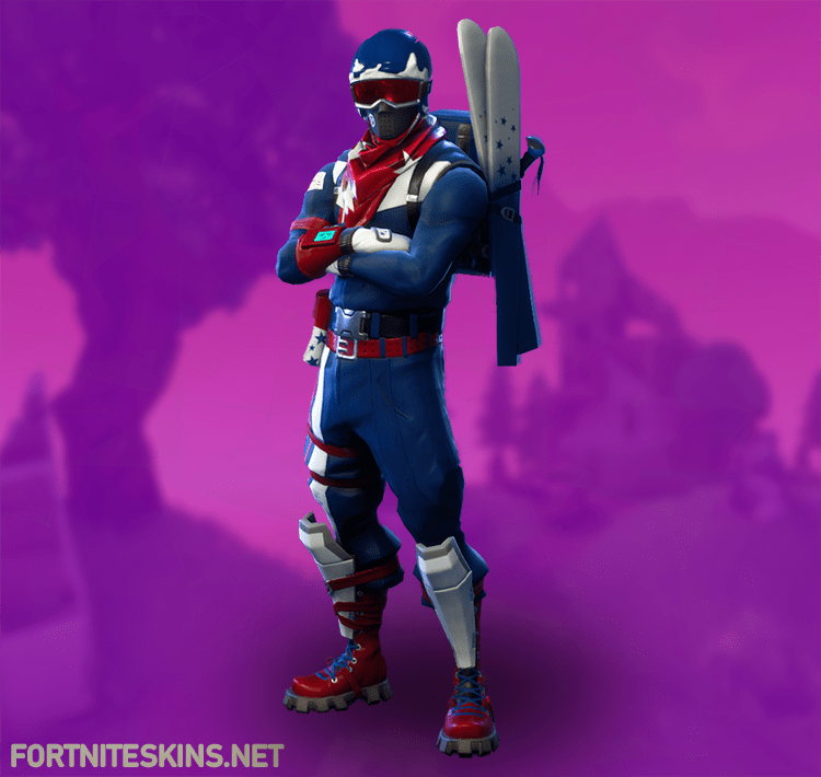 Epic Alpine Ace (USA) Outfit