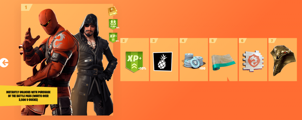 Epic Battle Pass Tiers Misc