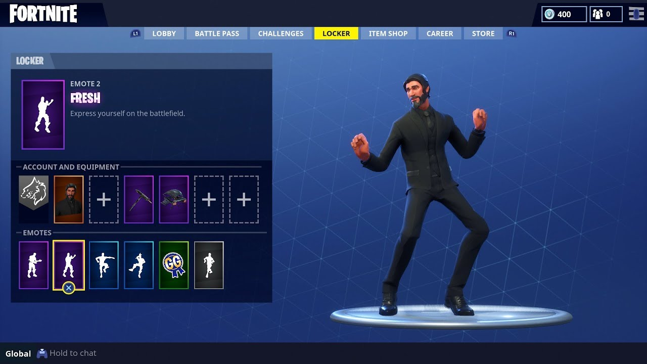 Epic Fresh Emote