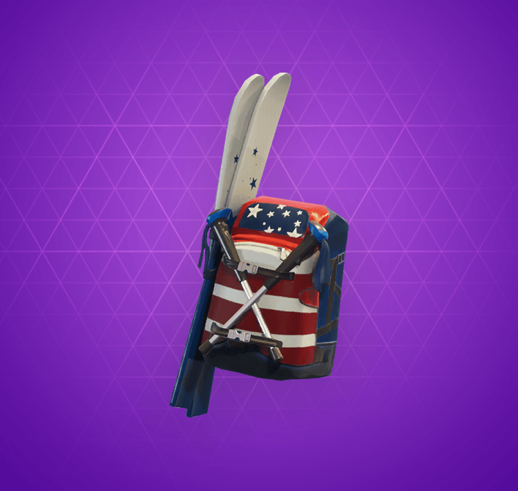 Epic Mogul Ski Bag Back Bling