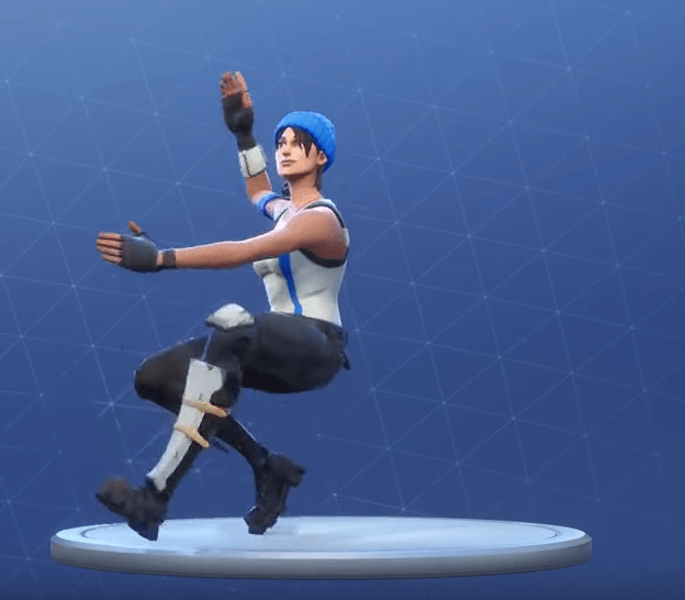 Epic Squat Kick Emote