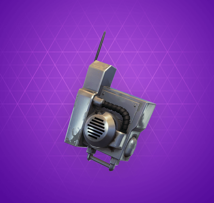Epic Steelcast Back Bling