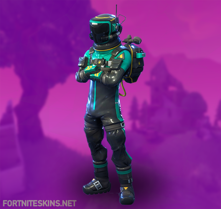 Epic Toxic Trooper Outfit