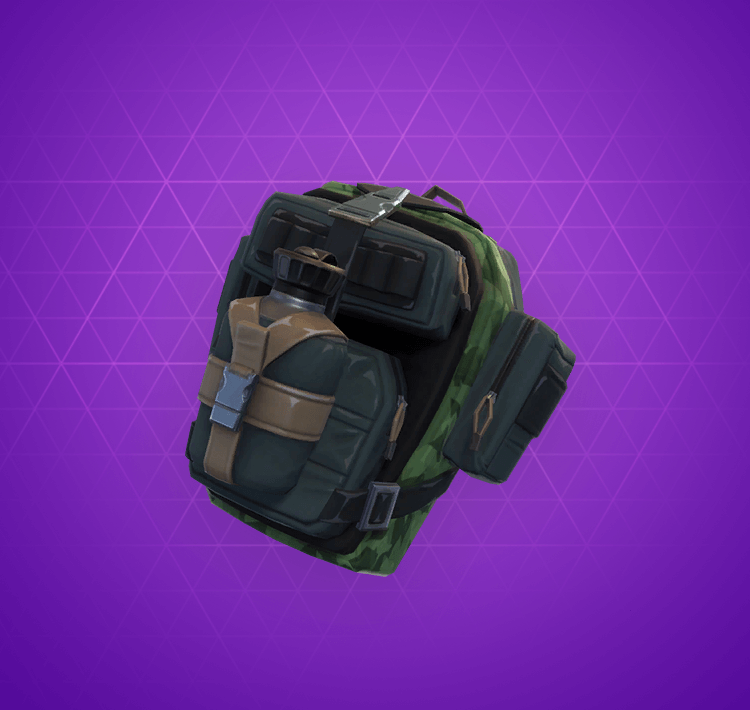 Epic True North Back Bling