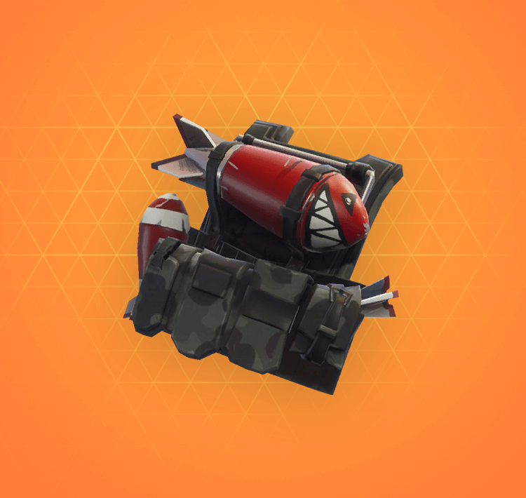 Legendary Backup Plan Back Bling