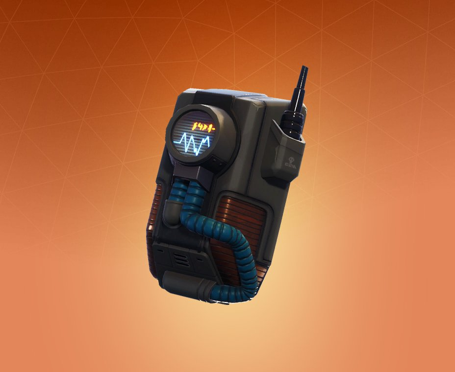 Legendary Dark Matter Back Bling