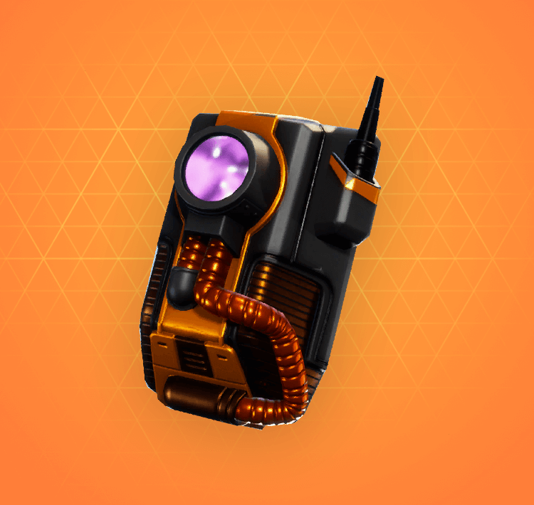 Legendary Dark Void Back Bling