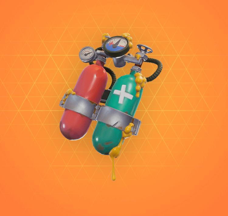 Legendary Mertank Back Bling