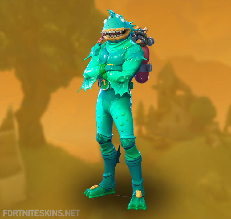 Legendary Moisty Merman Outfit