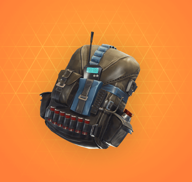 Legendary Pursuit Back Bling