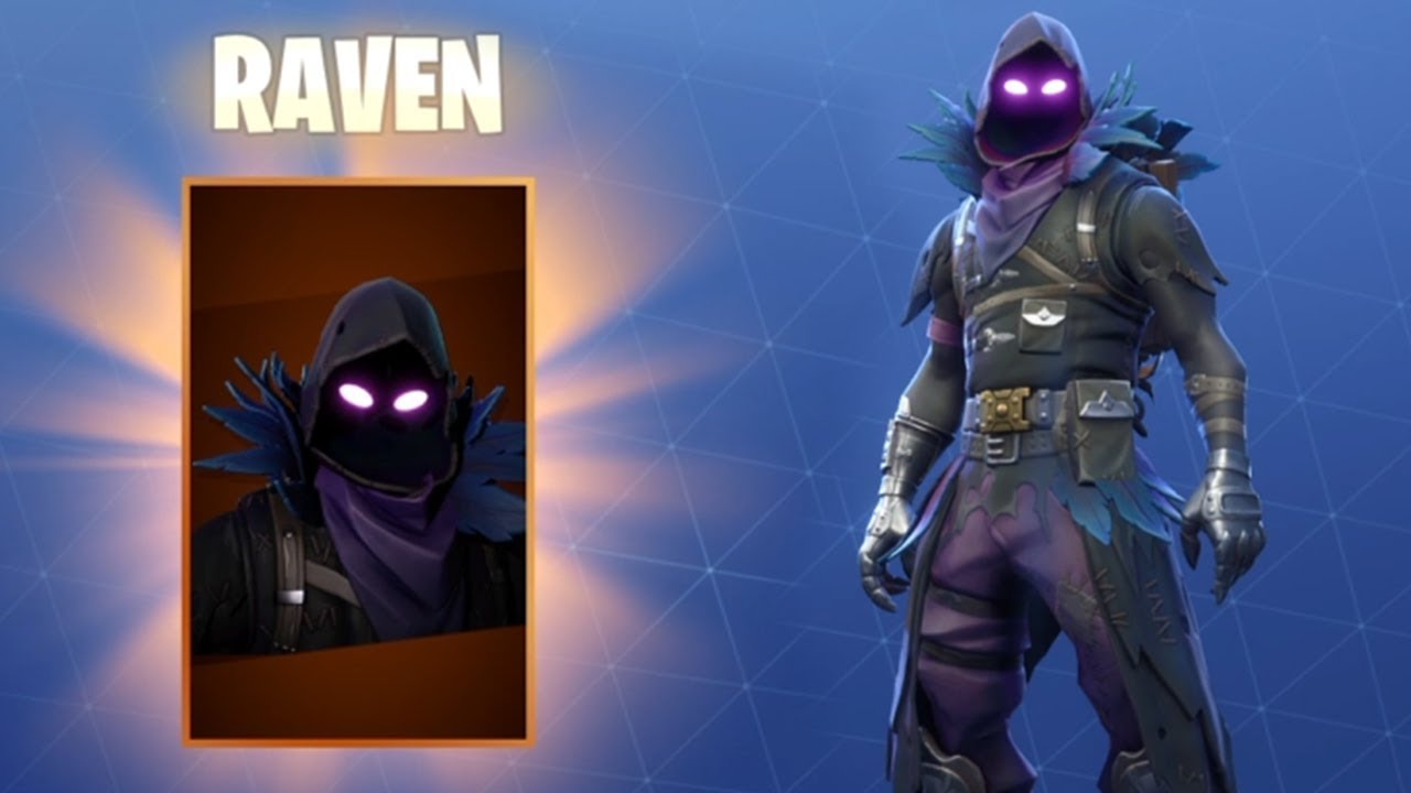 Legendary Raven Outfit