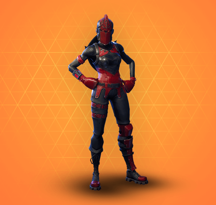 Legendary Red Knight Outfit