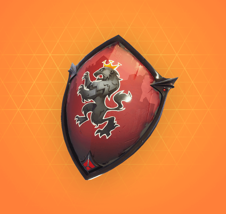 Legendary Red Shield Back Bling