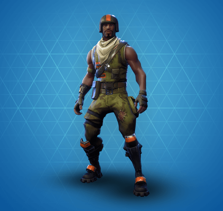 Rare Aerial Assault Trooper Outfit
