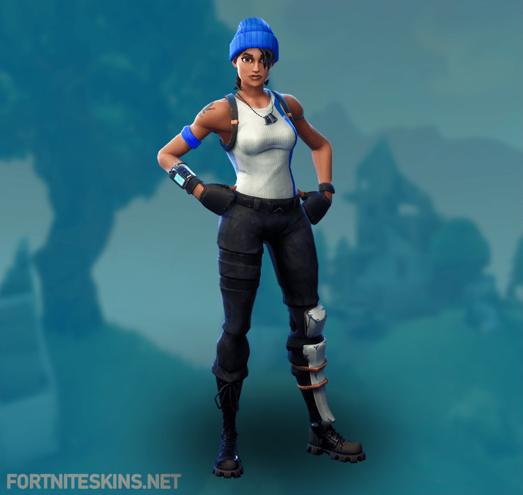 Rare Blue Team Leader Outfit