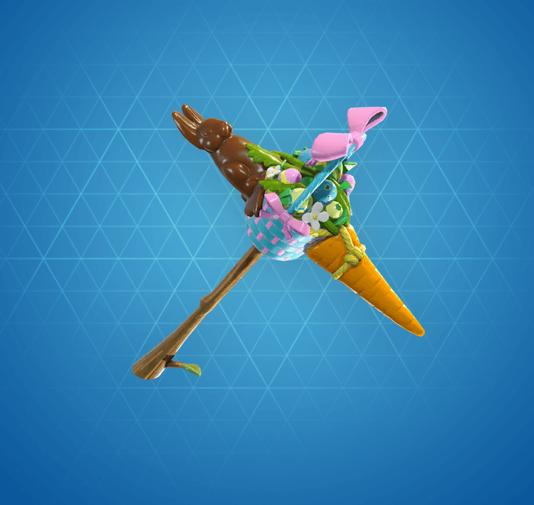 Rare Carrot Stick Pickaxe