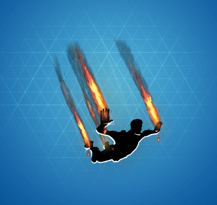 Rare Flames Skydiving Trail