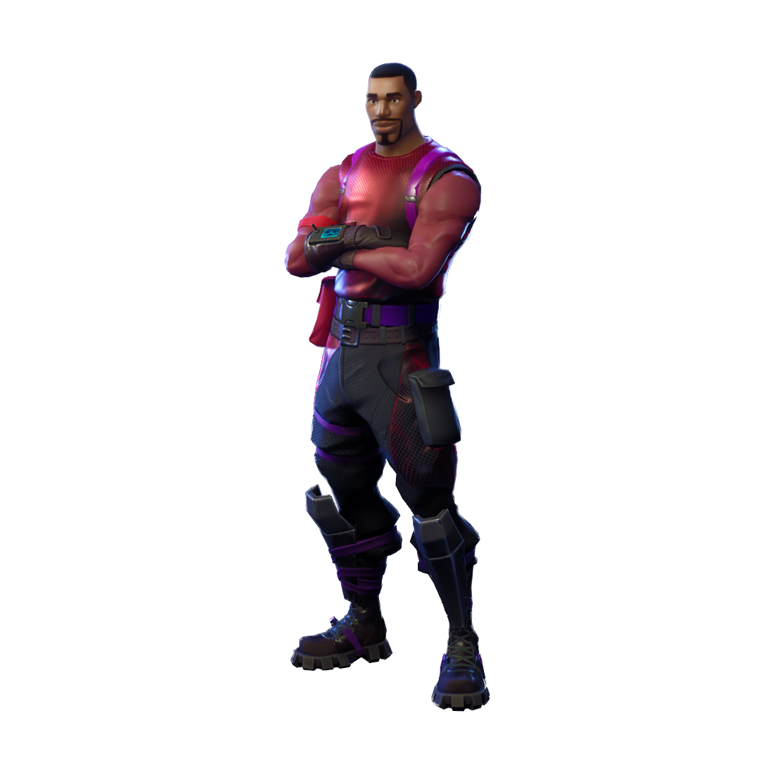 Rare Radiant Striker Outfit