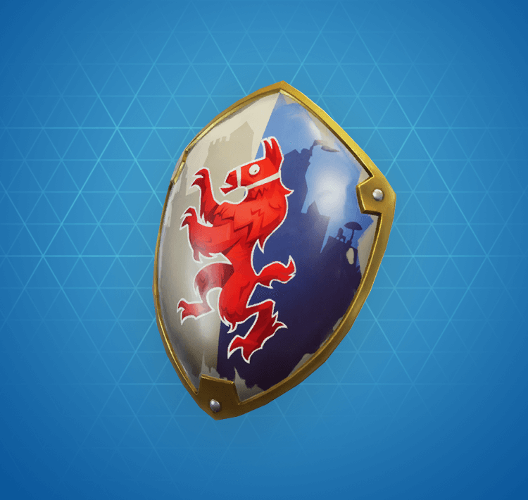 Rare Royale Shield Back Bling
