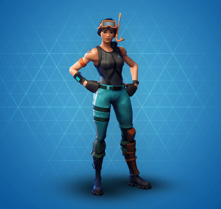 Rare Snorkel Ops Outfit