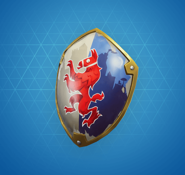 Rare Squire Shield Back Bling