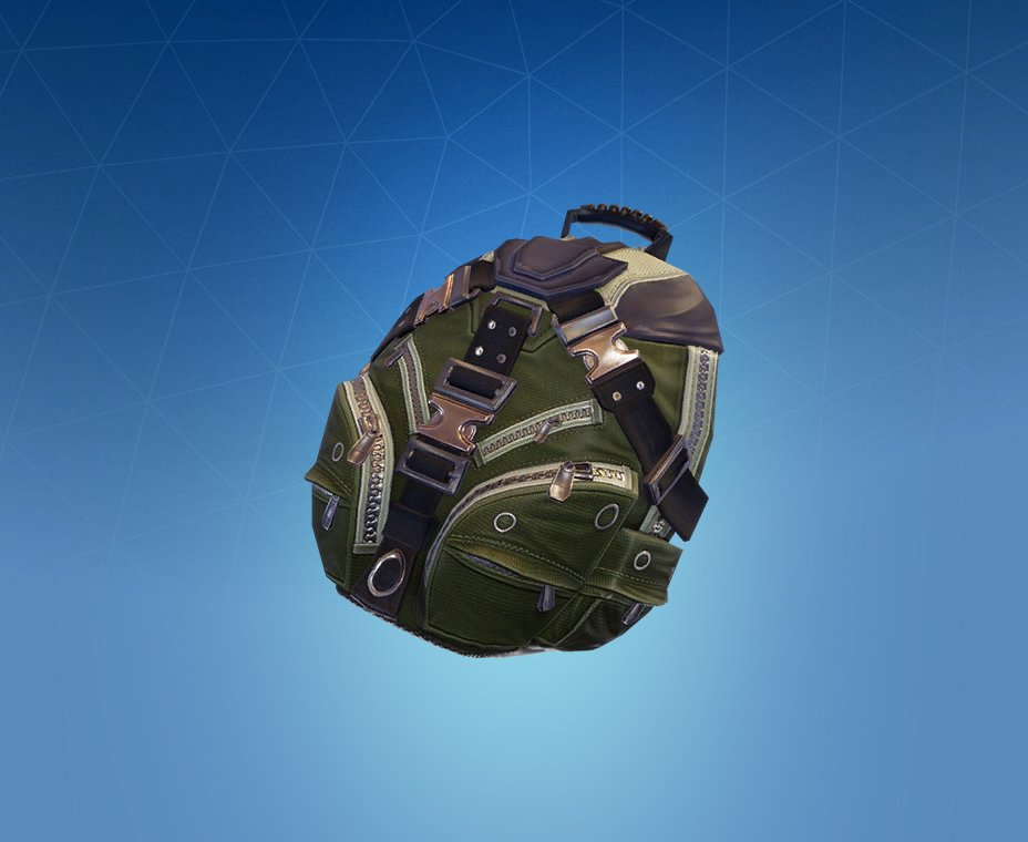 Rare Standard Issue Back Bling