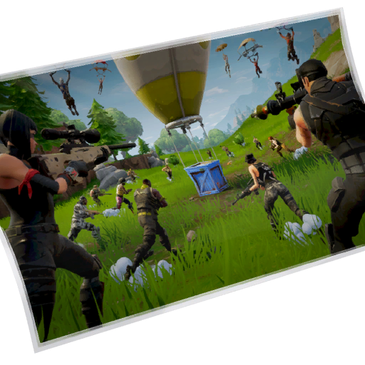 Uncommon Battle Royale Loading Screen