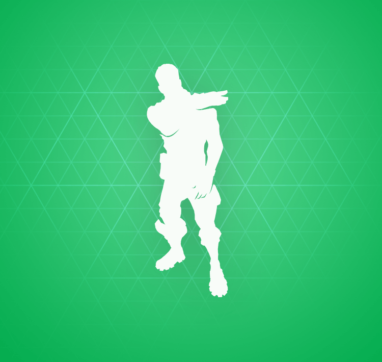 Uncommon Brush Your Shoulders Emote