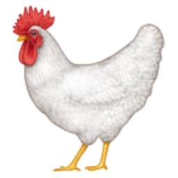 Uncommon Chicken Emoji
