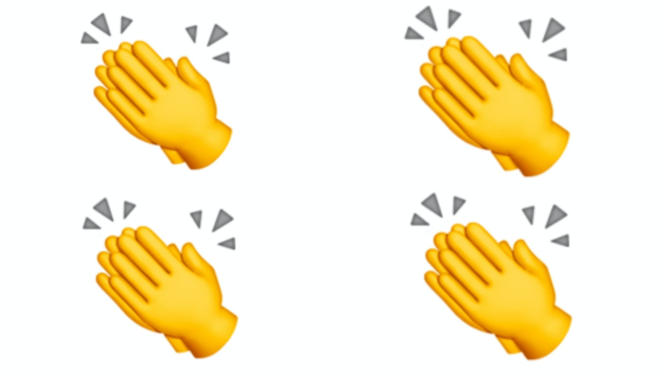 Uncommon Clapping Emoji
