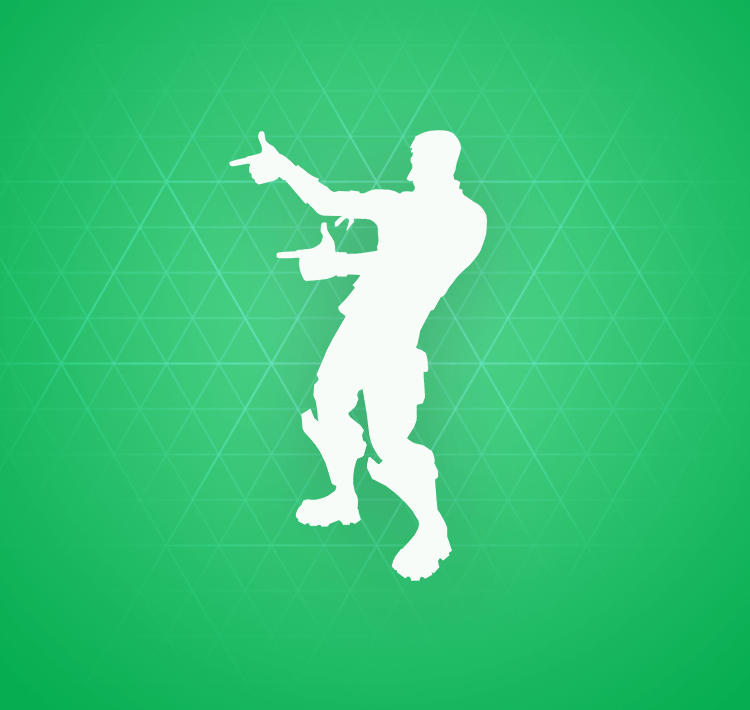Uncommon Finger Guns Emote