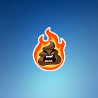 Uncommon Flaming Rage Emoji