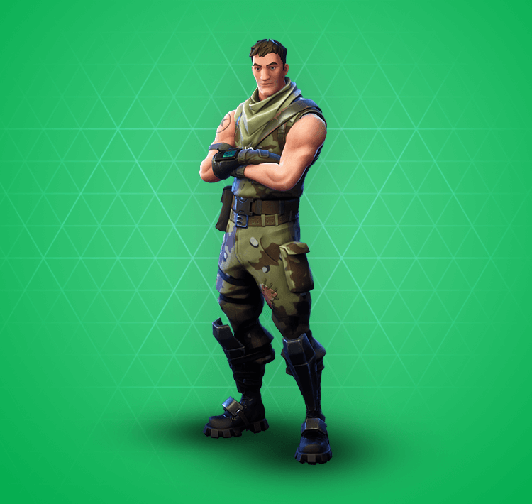 Uncommon Highrise Assault Trooper Outfit